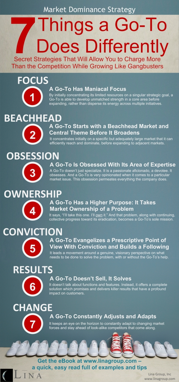 Lina Group Infographic: 7 Things a Go-To Does Differently